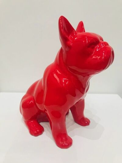 Design by Jaler, 'Boxer Dog - Red', 2019