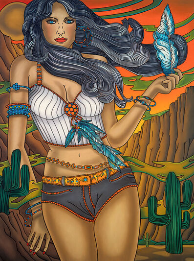 Richard Phillips, 'South Western Theme (after Chris Spollen)', 2005