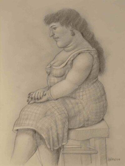 Fernando Botero, 'Seated Woman', 2004