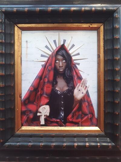 Seth Morley, 'Black Madonna, Santa Lux', 2019