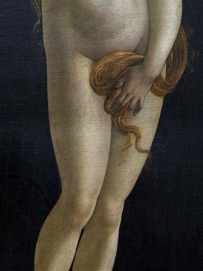 Reinhard Gorner, 'Detail from: Venus, Sandro Botticelli Workshop, Painting Gallery, Berlin', 2008