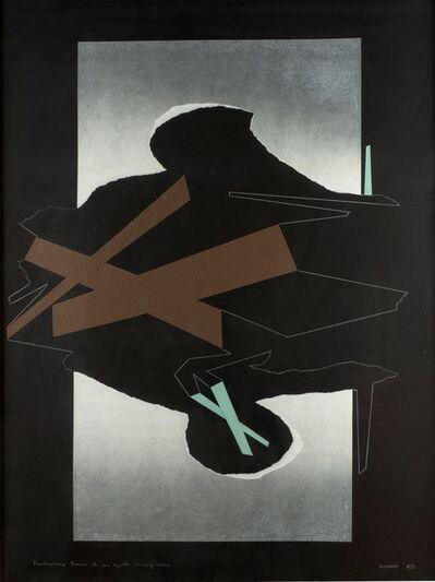 Bruno Munari, 'Ricostruzione teorica di un oggetto immaginario', 1971