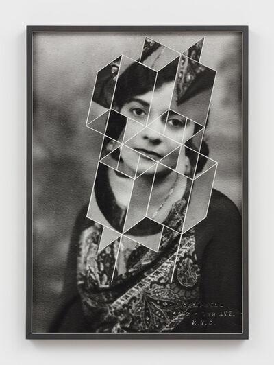Andrea Geyer, 'Constellations (Regina M Andrews after Campell)', 2018