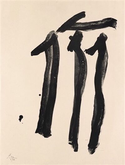 Robert Motherwell, 'The Dalton Print', 1979