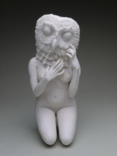 Crystal Morey, 'Entangled Wonders: Northern Spotted Owl With Live Oak'