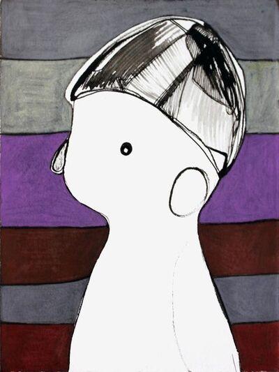 Rebeca Raney, 'Striped Profile', 2010