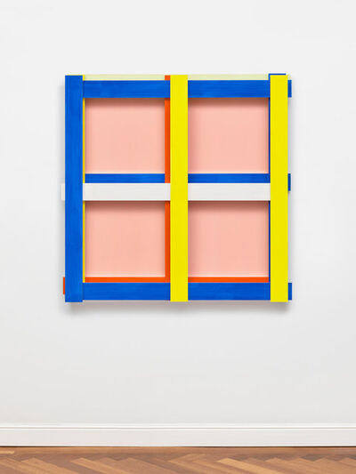 Imi Knoebel, 'Rosa Quadrat', 1998