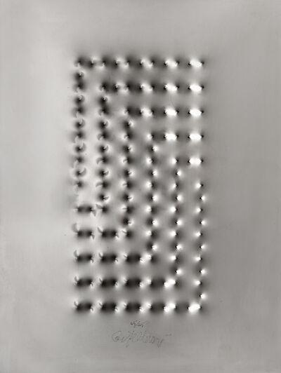 """Enrico Castellani, '""""Estroflexion""""', 2008"""