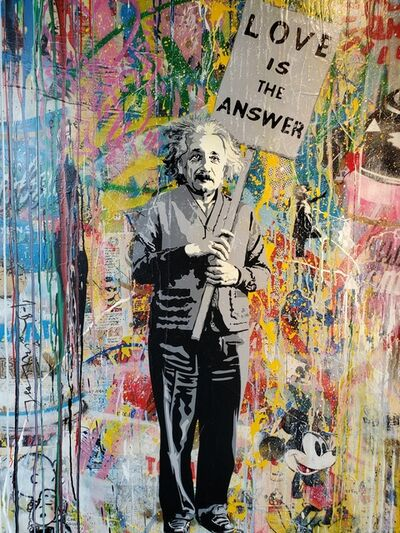 Mr. Brainwash, 'Enstein', 2019