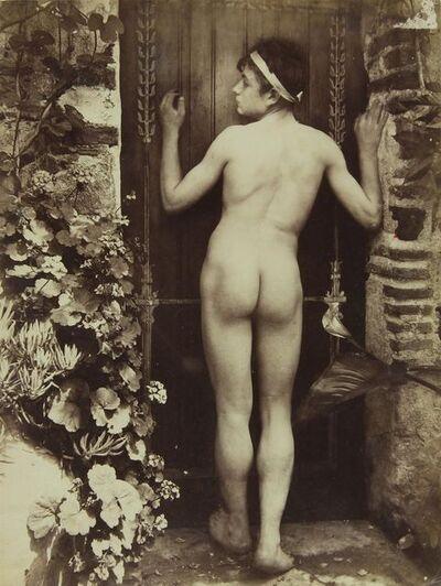 Wilhelm Von Gloeden, '[Nude Sicilian Young Man from the Rear]', ca. 1910