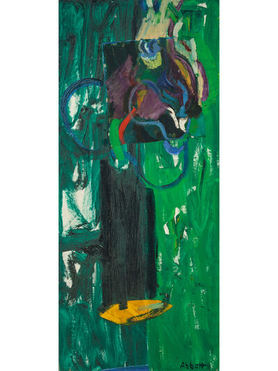 Mary Abbott, 'Mahogany Road', 1955