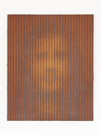 "Tomohiro Kato, 'iron-oxide painting ""D.P./S****39""', 2020"