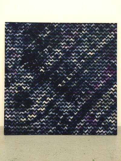Hisham Akira Bharoocha, 'Zig Zag Blue', 2014