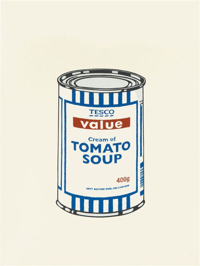 Banksy, 'Soup Can (Original Colour-Way)', 2005