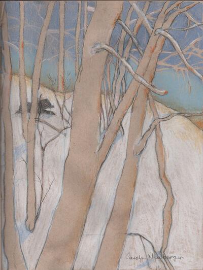 Carolyn Newberger, 'Trees in winter', 2020