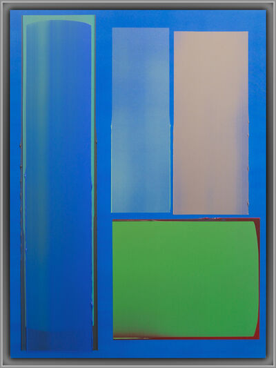 Jonathan Forrest, 'Green in Blue', 2021