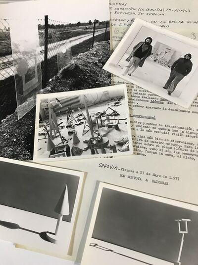 Rafael Baixeras, 'Documentary and photographic set of the artists Rafael Baixeras and Mon Montoya', 1977