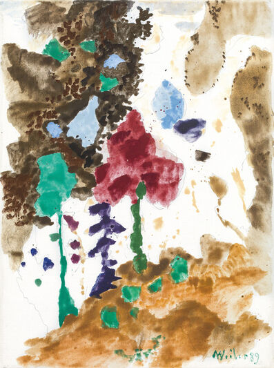 Max Weiler, 'untitled', 1989