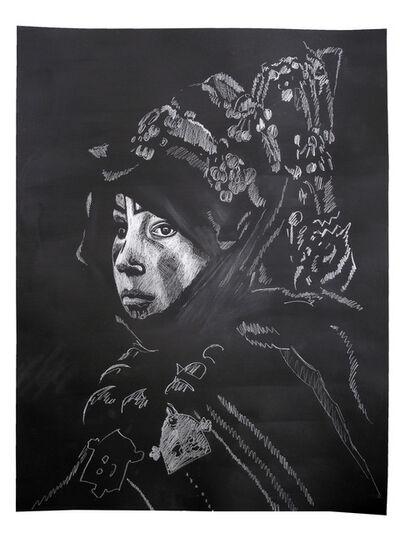 Karri Kuoppala, 'Contemplations on the Veil #2 (Black)', 2014