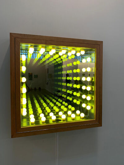 Iván Navarro, 'Square Light (Yellow)', 2019