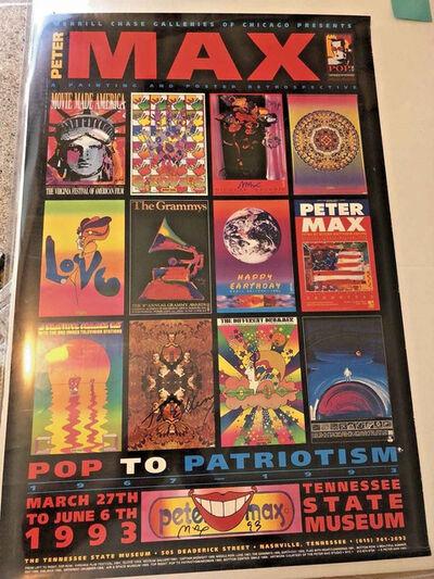 Peter Max, 'Pop to Patriotism', 1993