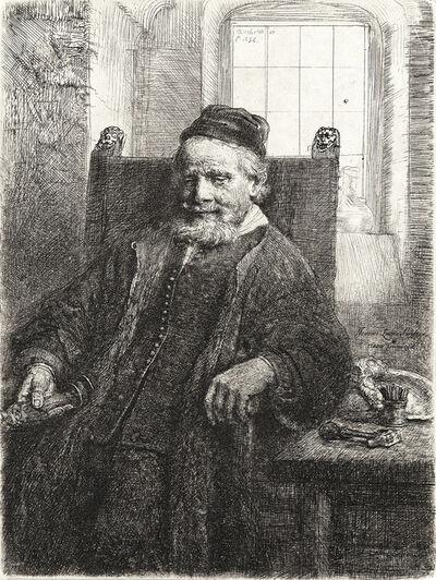 Rembrandt van Rijn, 'Jan Lutma, Goldsmith', 1656