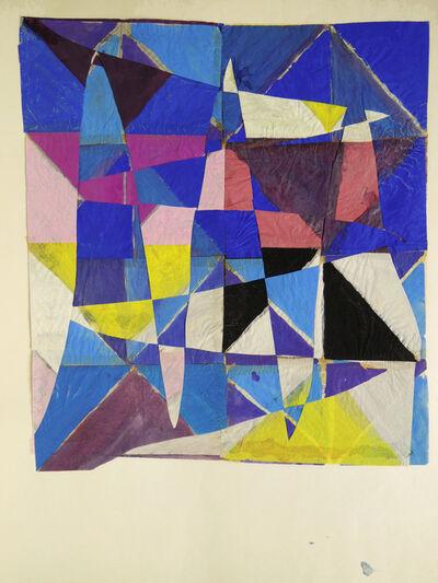 François Rouan, 'Tressage violet', 1967