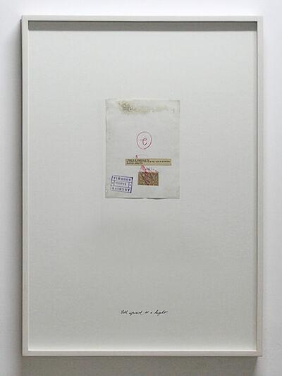 John Murphy (b.1945), 'Fall upward, to a height (verso)', 2015