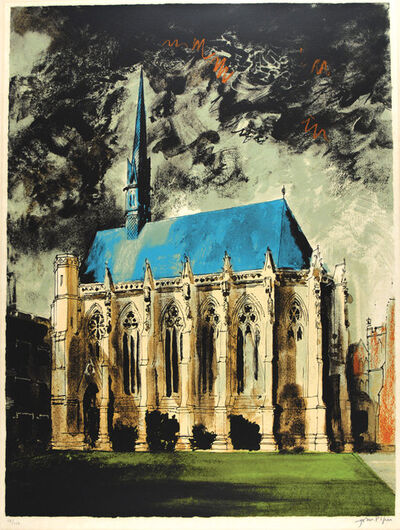 John Piper, 'Exeter College Chapel, Oxford', 1977