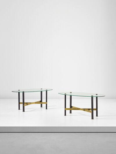 Mathieu Matégot, 'Pair of 'Canasta' tables', ca. 1960