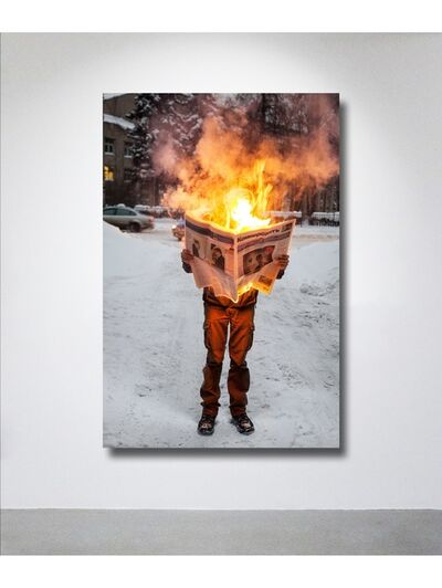 Tim Parchikov, 'Burning news ', 2011