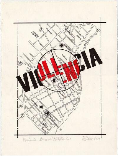 Margarita Paksa, 'Violencia toma Batallón 121', 1975