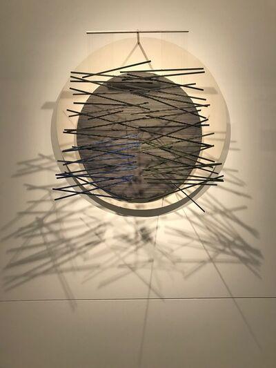 Jesús Rafael Soto, 'Vibration sur le cercle', 1967