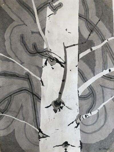 Meredith Nemirov, 'Monochrome Aspens', 2017