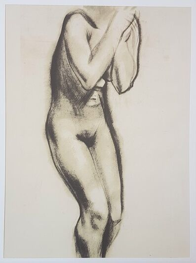 """Marino Marini, 'Nude - From """"A Suite of Sixty-three Re-creations of Drawings and Sketches in Many Mediums"""" ', 1968"""