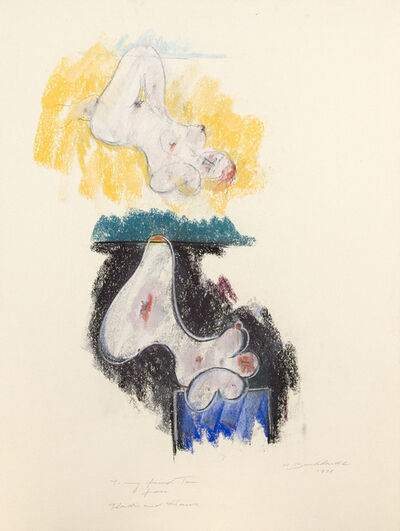 Hans Burkhardt, 'Nude Studies', 1978