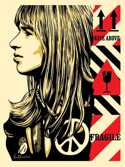 Shepard Fairey (OBEY), 'Fragile Peace ', 2017