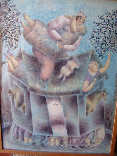 Maximino Javier, 'Casa Movil', 1994
