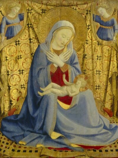 Fra Angelico, 'The Madonna of Humility', ca. 1430