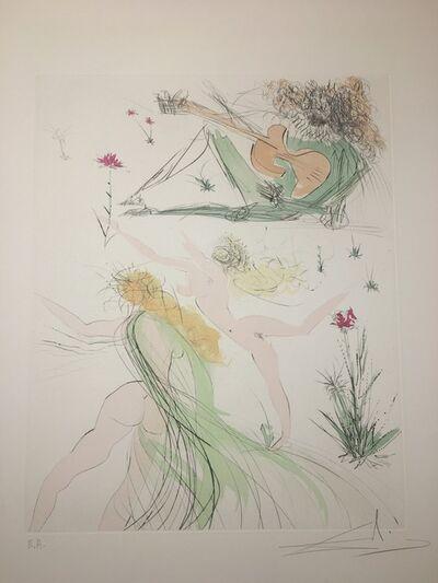 Salvador Dalí, 'La Joie de vivre', 1971