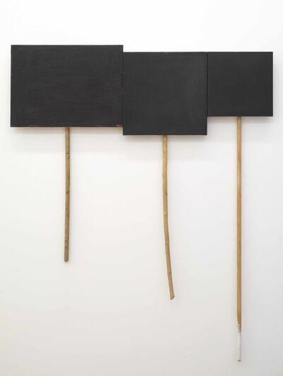 Denzil Hurley, '3 Panel Glyph #2', 2012-2014