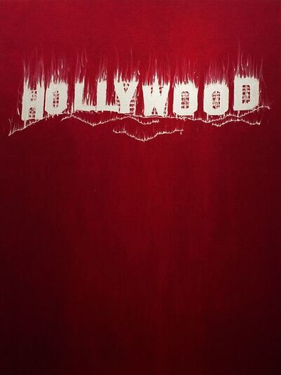 Gary Simmons, 'Hollywood', 2013