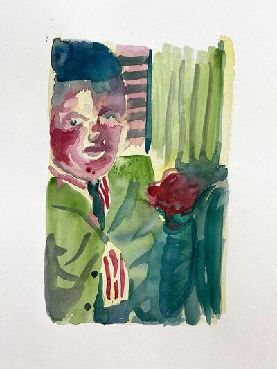 Bent Van Looy, 'Young Butcher', 2020