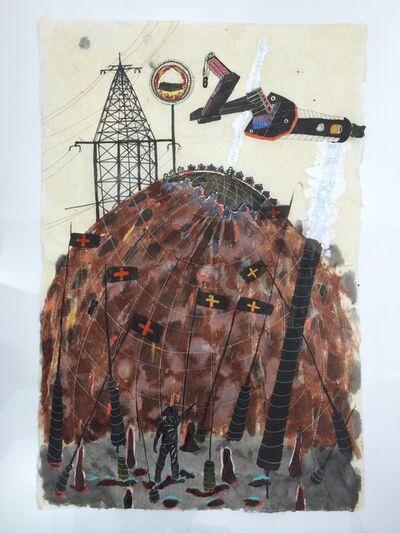 Omar Ba, 'Write on the Walls-Flags', 2015