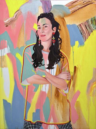 Kim Leutwyler, 'Kat', 2021
