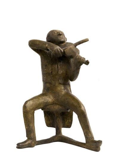 Gerhard Marcks, 'Seated Violin Player', 1973