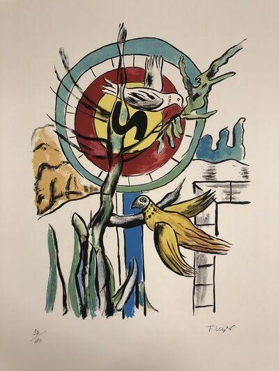 Fernand Léger, 'Les deux Oiseaux', 1959