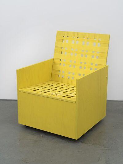 Mary Heilmann, 'Clubchair 84', 2013