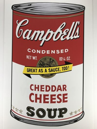 Sunday B. Morning, 'Campbells Soup – CHEDDAR CHEESE', ca.1980