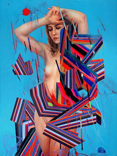 "Erik Jones, '""Dress of Ribbon""', 2014"